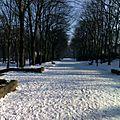 La neige et le soleil
