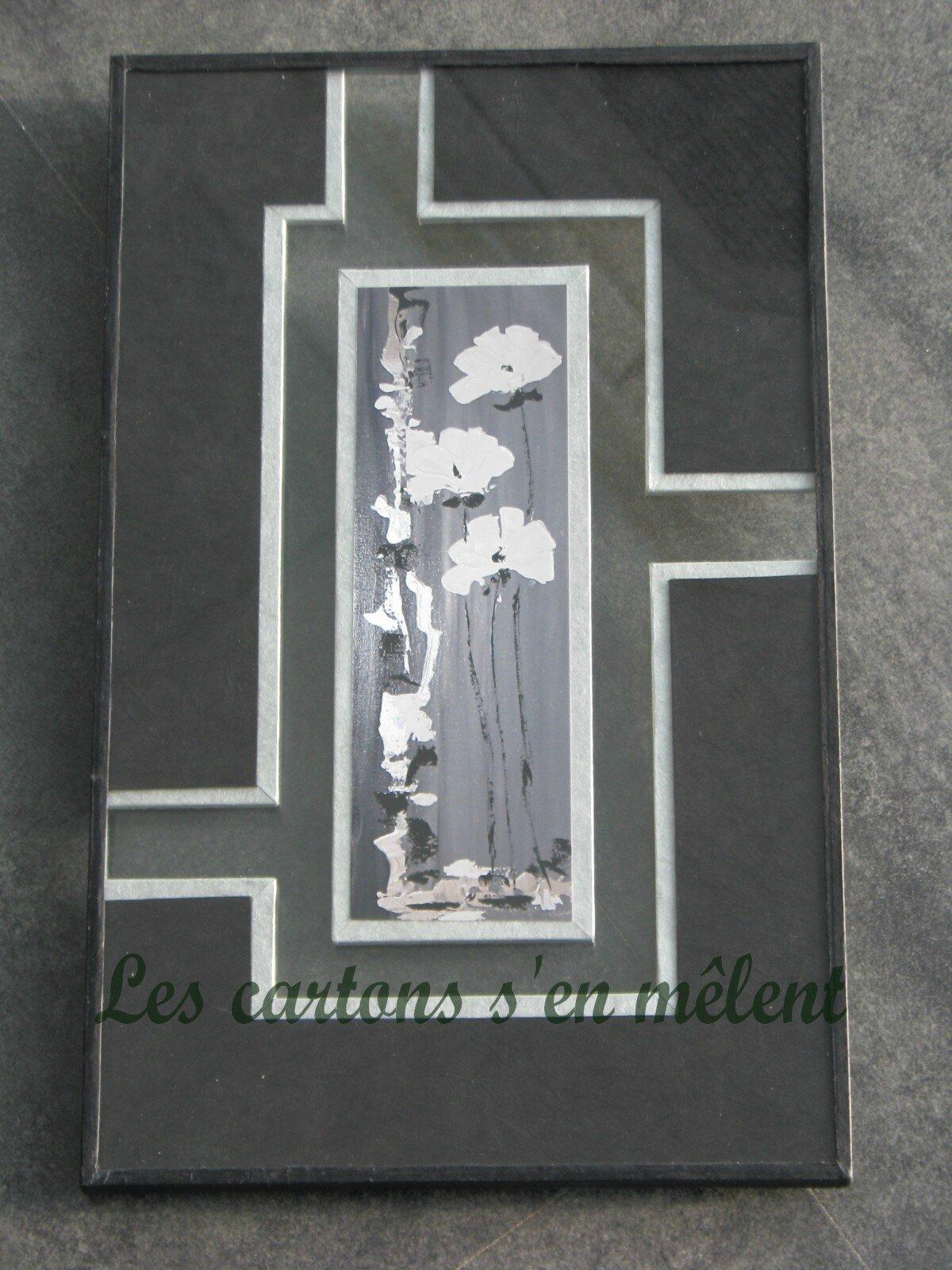 fleurs noires et blanches (2)