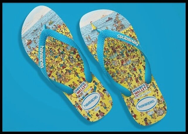 havaianas where is wally 2