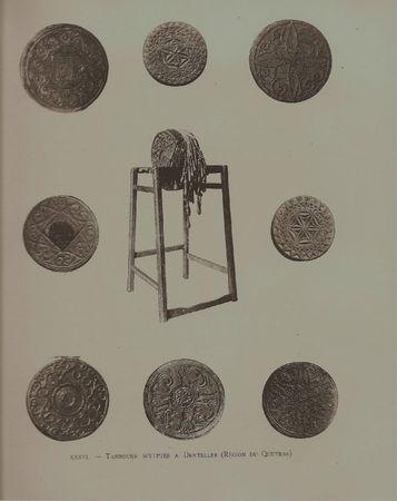 Tambours sculptés du Queyras