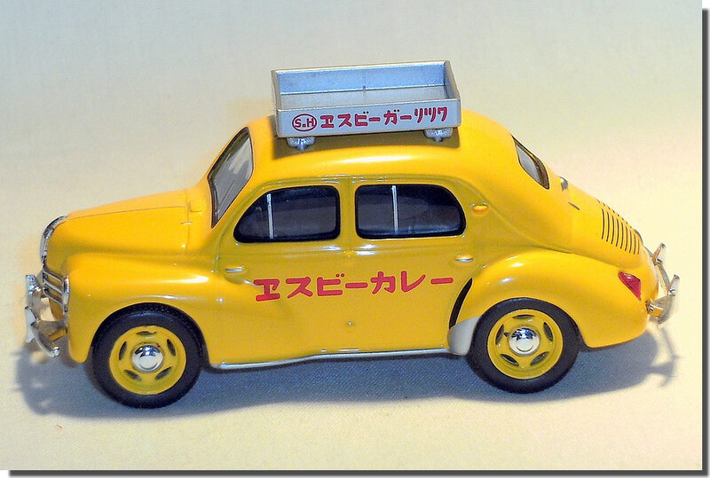 Renault 4cv Taxi Japon A 3