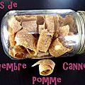 Cuir de pomme-gingembre-canelle