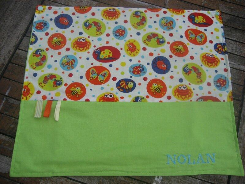 des serviettes pour les maternelles