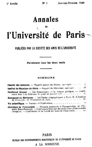 Diplome d-etudes superieures de philosophie 1929_1