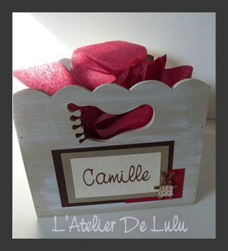 petite boite pour dragees decoration bapteme