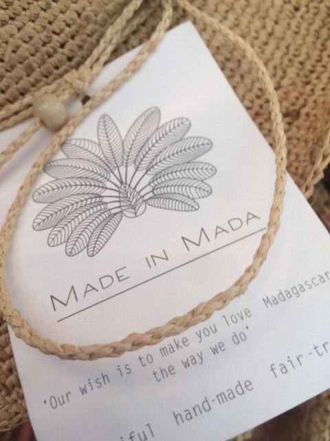 Made in Mada panier chapeaux raphia hand made commerce équitable Boutique Avant Après Montpellier