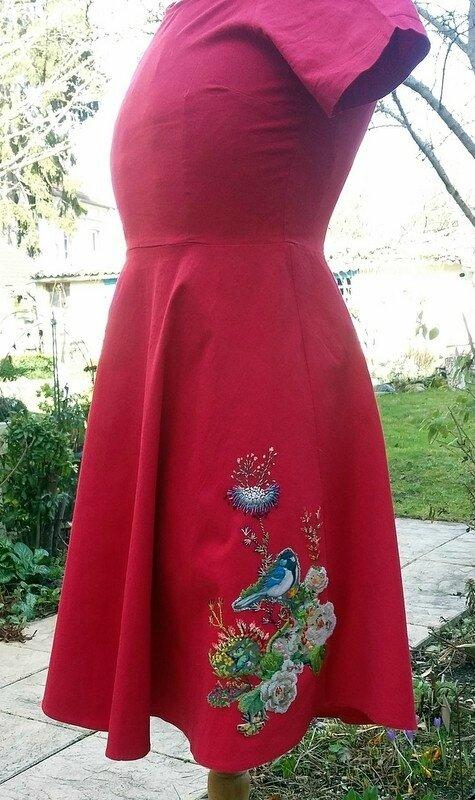 La robe de mes 50 ans, revisitée par Mamie Jeannette...
