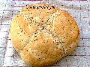 Mon khobz el koucha (pain au four)