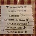 Pochette 7: Jardins