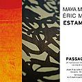 Exposition maya mémin - eric mahé