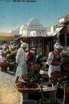Photographie ancienne colorisée de Lehnert et Landrock - Tunis, début 20e siècle
