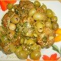 Dolma aux olives