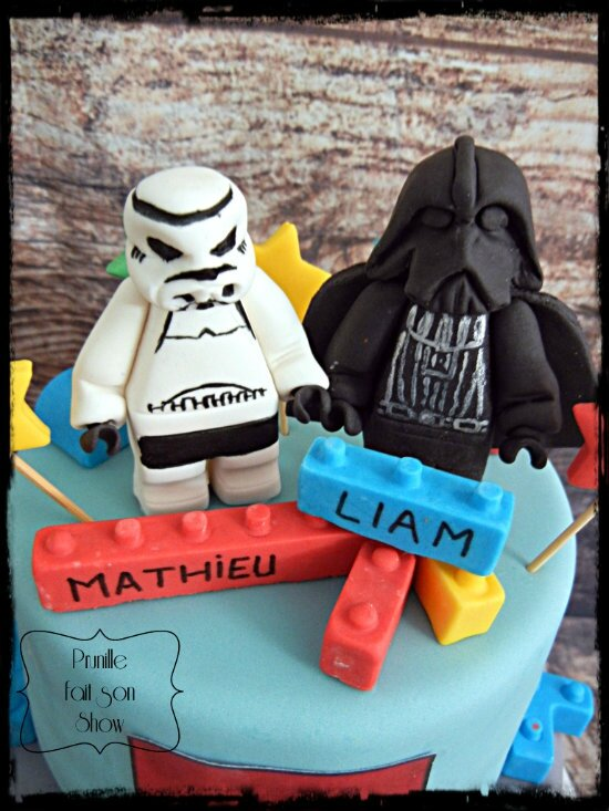 gateau lego star wars prunillefee 4