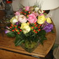 ce joli bouquet offert par ma fille