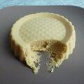 Cheesecake diététique hyperprotéiné au lait d'amande et de noisette (sans oeufs, sans beurre et sans cuisson)