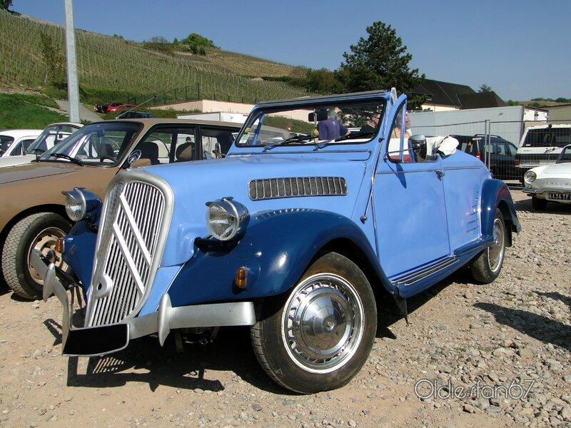 citroen 2cv6 special cabriolet hoffmann 1