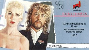 1986_11_Eurythmics_POP_Bercy_Billet