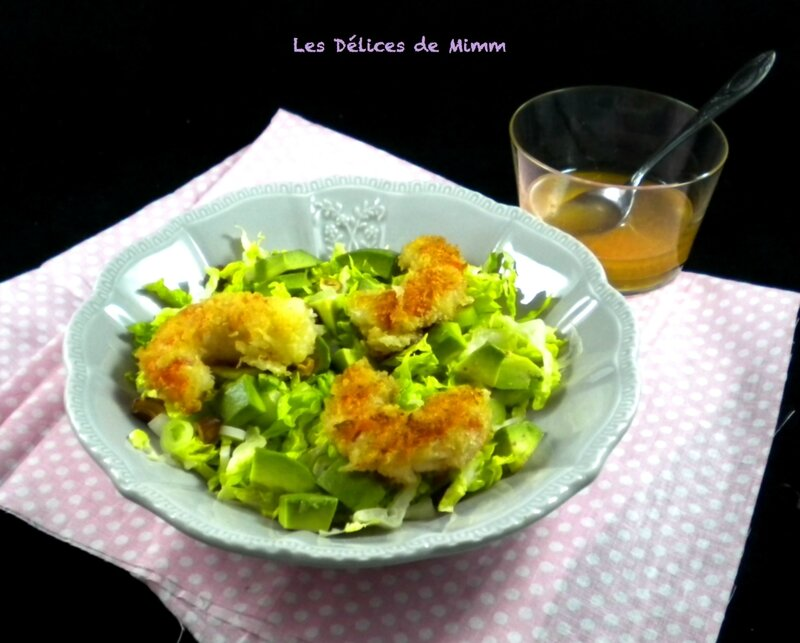 Salade de crevettes croustillantes pour la Saint-Valentin2