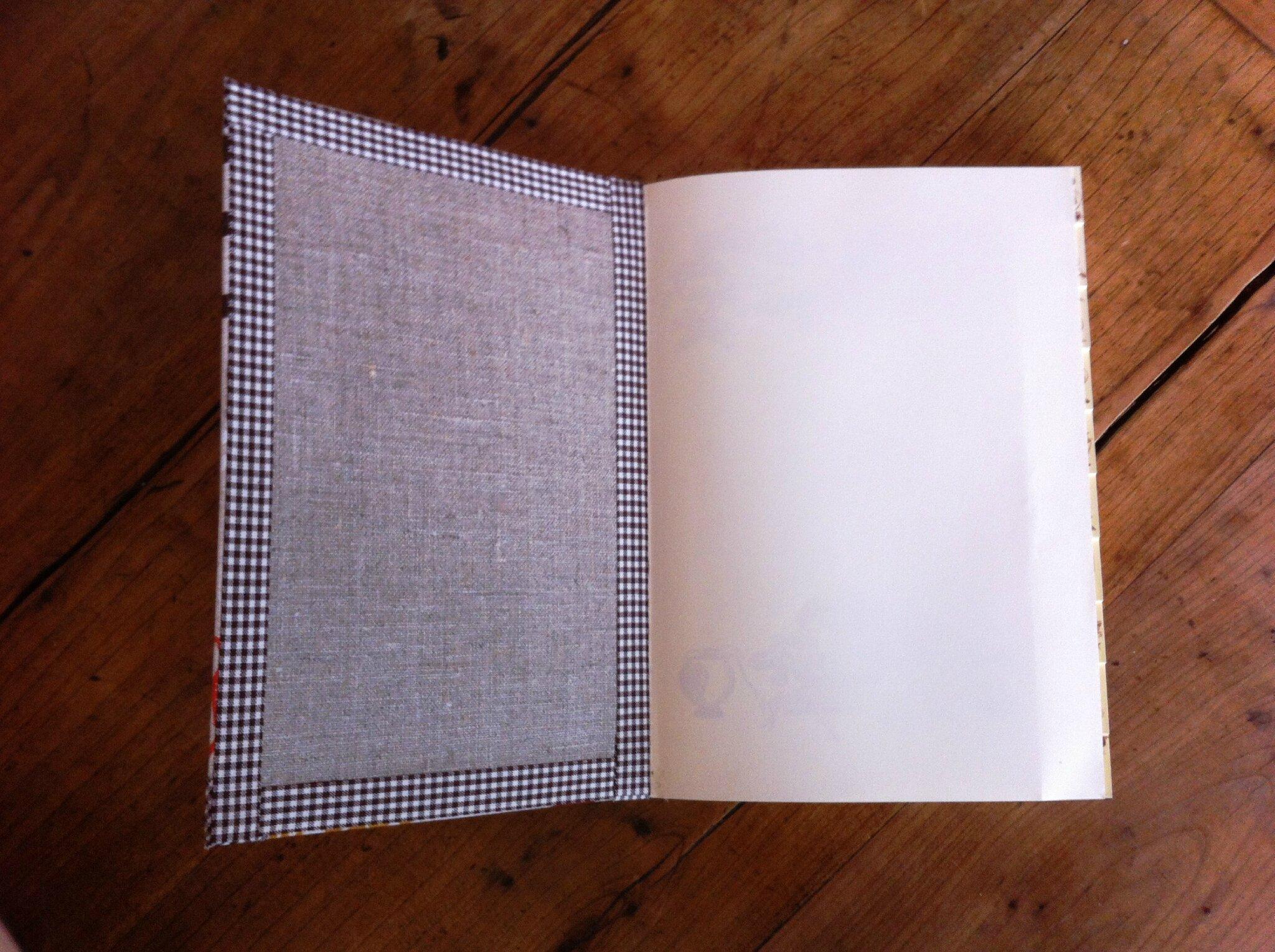 Cahier de recettes - 20€