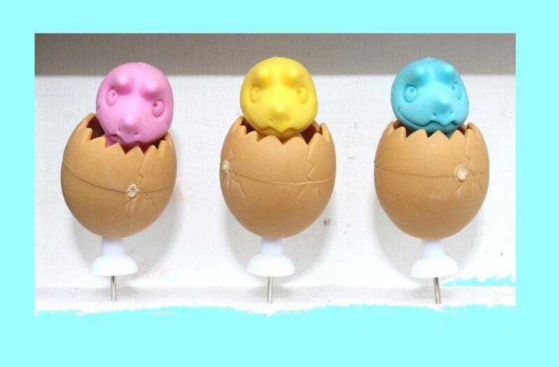 BB dino dans leur œuf IWAKO