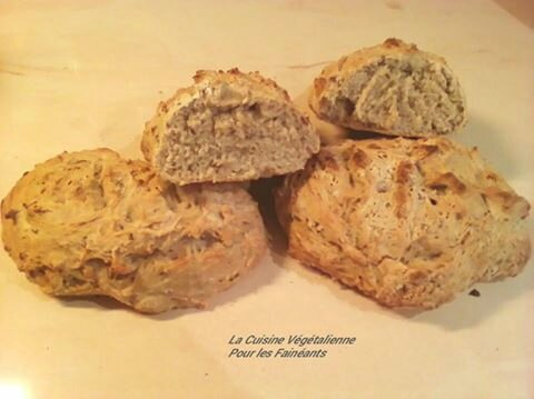 pain fainéante cuit