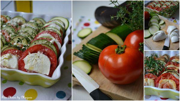 Tian légumes mozza