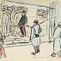 1914-10-11 prisonnier Allemands à Bordeaux