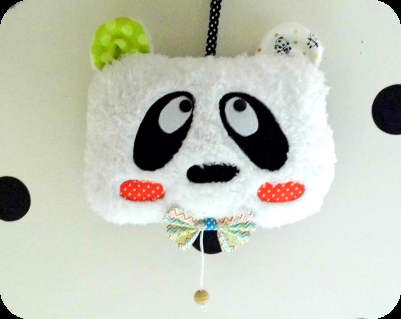 Panda musical- Boite à musique Panda