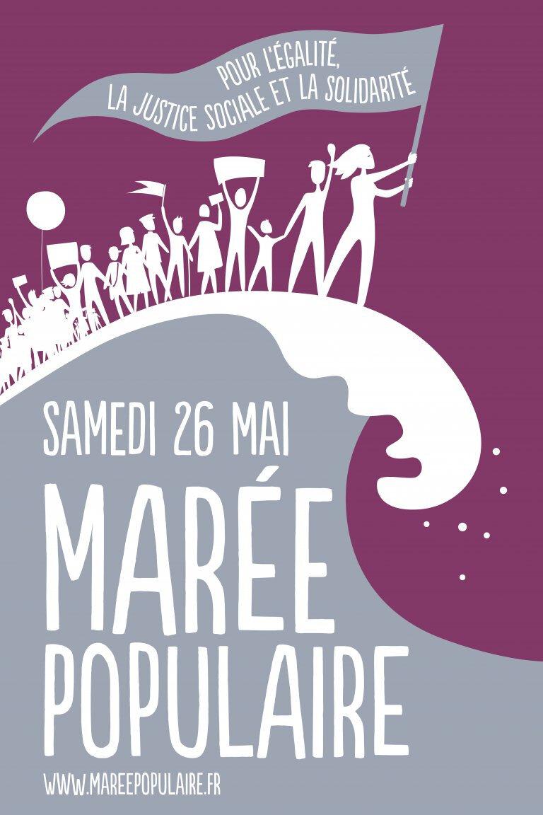 26 Mai, pour l'égalité, la justice et la solidarité