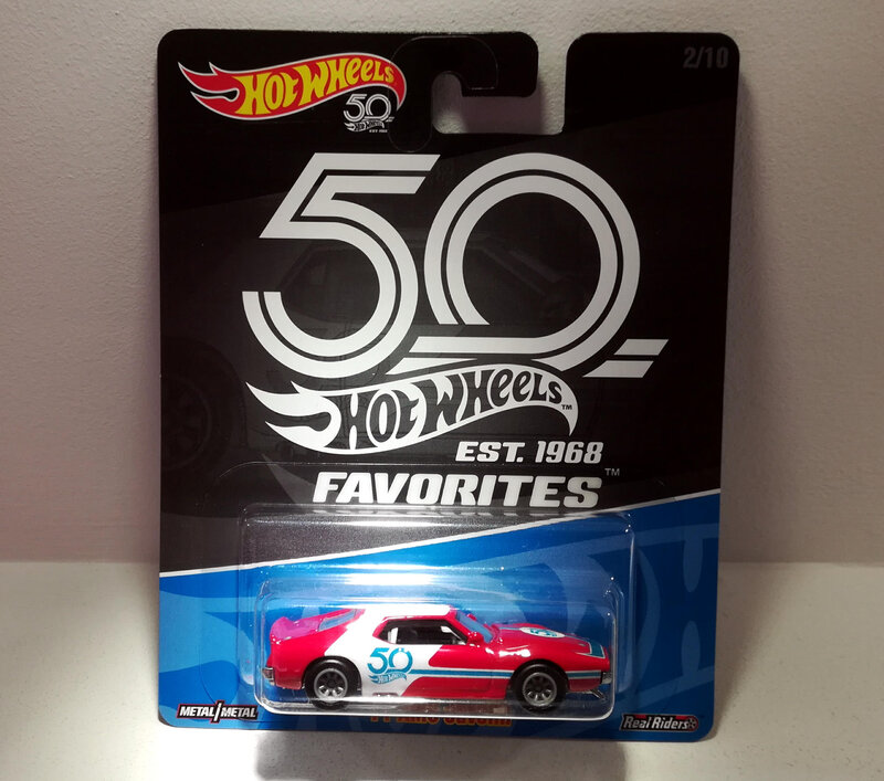Amc Javelin de 1970 (Hotwheels Favorites)