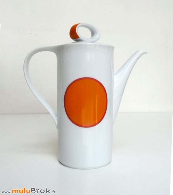 CAFETIERE-BAVARIA-Orange-4-muluBrok-Vintage