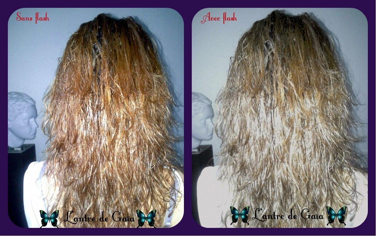 Coloration cheveux bio blond