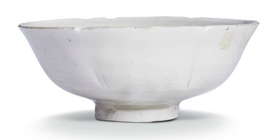 A foliate 'Ding' bowl, Northern Song dynasty (960–1127)