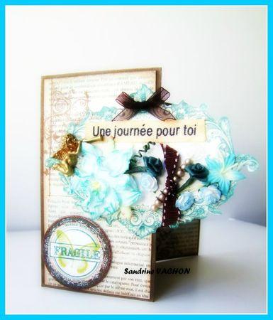 carte et pliages UNE JOURNEE POUR TOI - 11