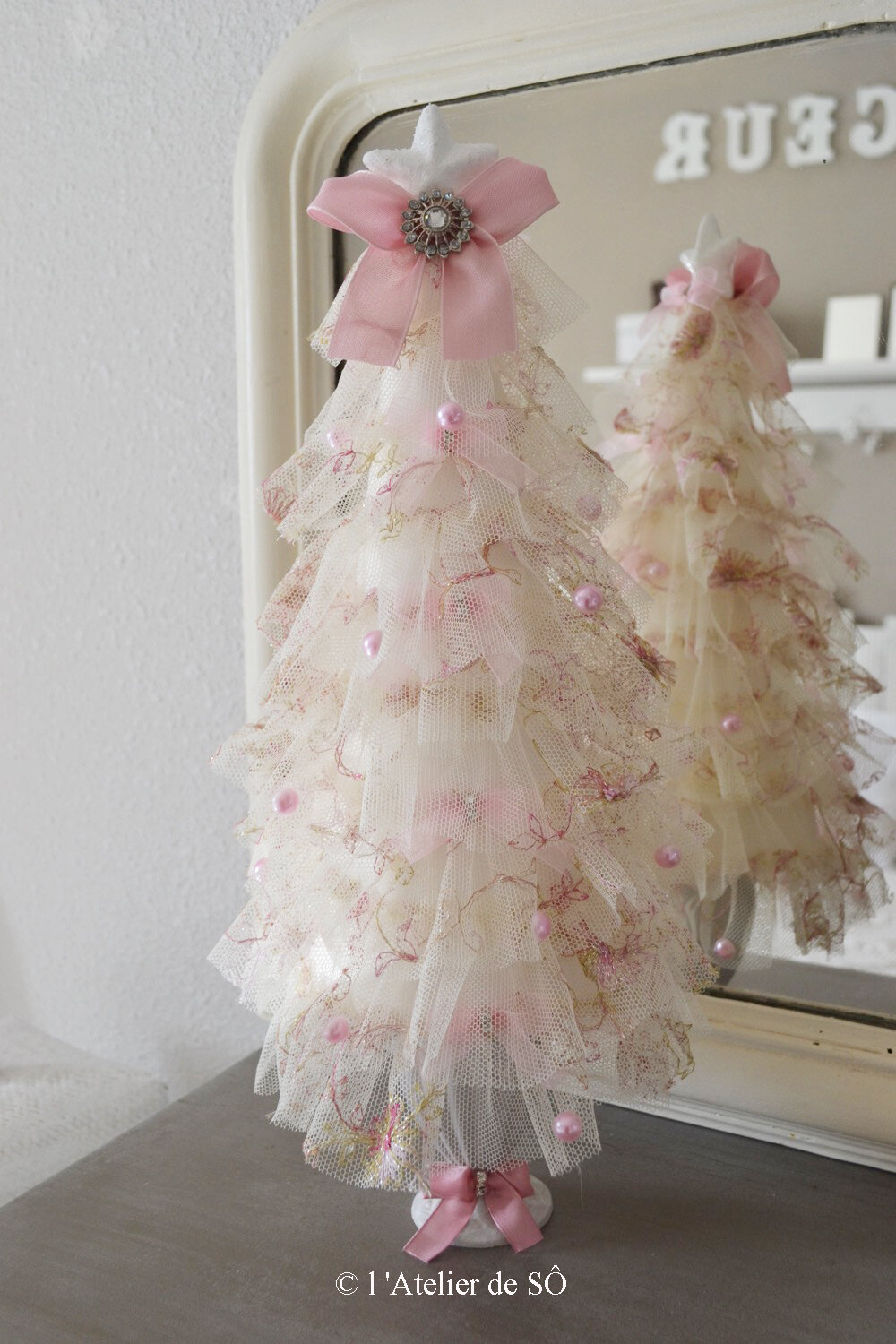 sapin froufrou shabby 1 d - 1