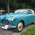 AUSTIN A40 Sport convertible carrosserie Jensen 1951 Schwetzingen (1)