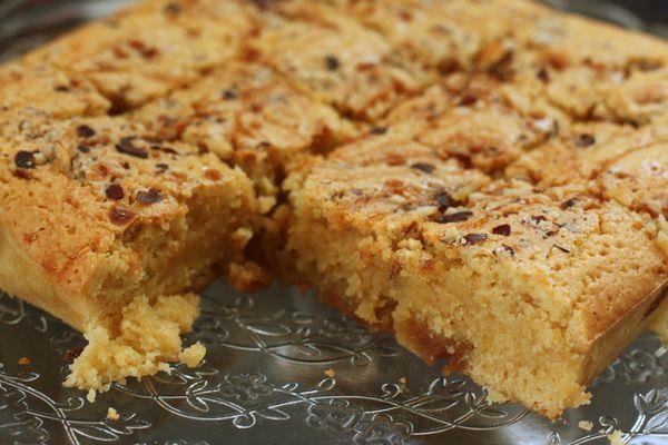 blondie caramel au beurre salé blog chez requia cuisine et confidences