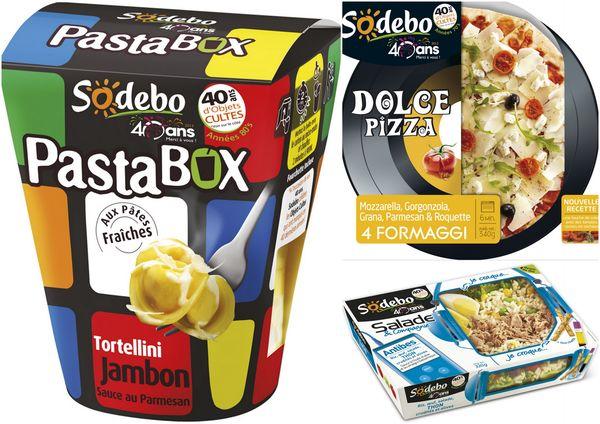 sodebo fête ses 40 ans produits cultes blog chez requia cuisine et confidences