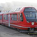 Suisse : livraison des flügel au rhb