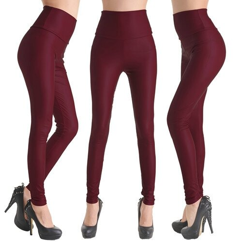 Hot-Sale-Faux-Leather-High-Waist-Leggings-Stretch-PU-Material-Pants-Ladies-Fashion-Leather-Leggings (3)