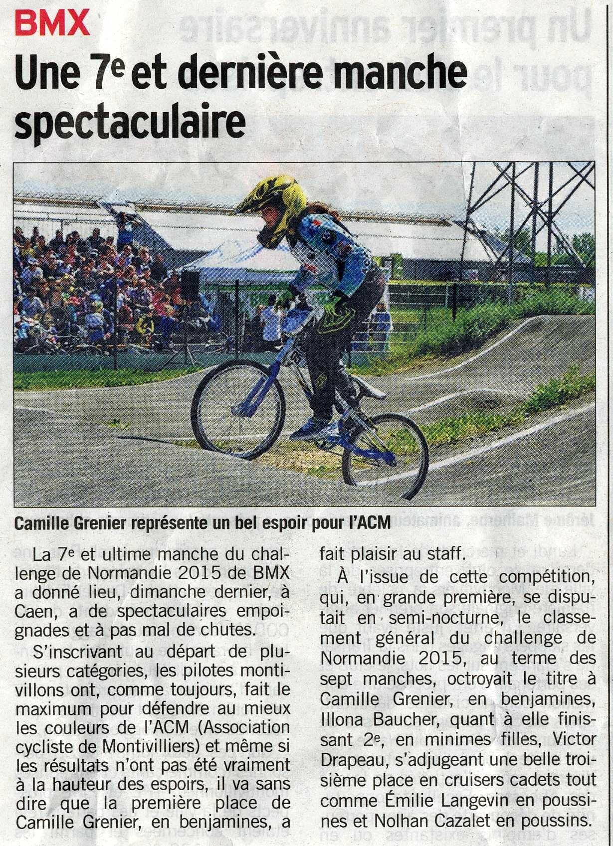 2015-10-10 Caen Courrier Cauchois