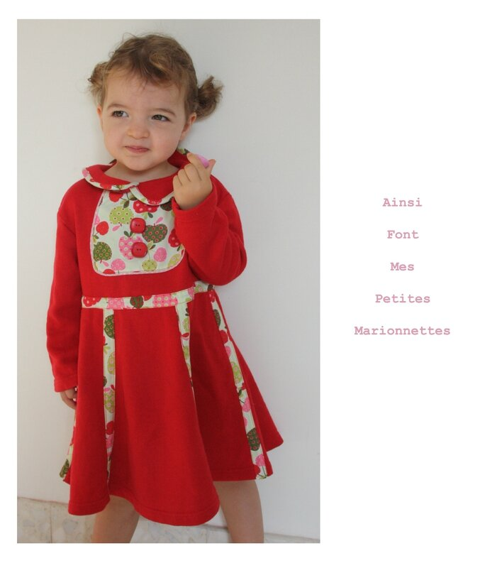 custo robe rouge molleton 4