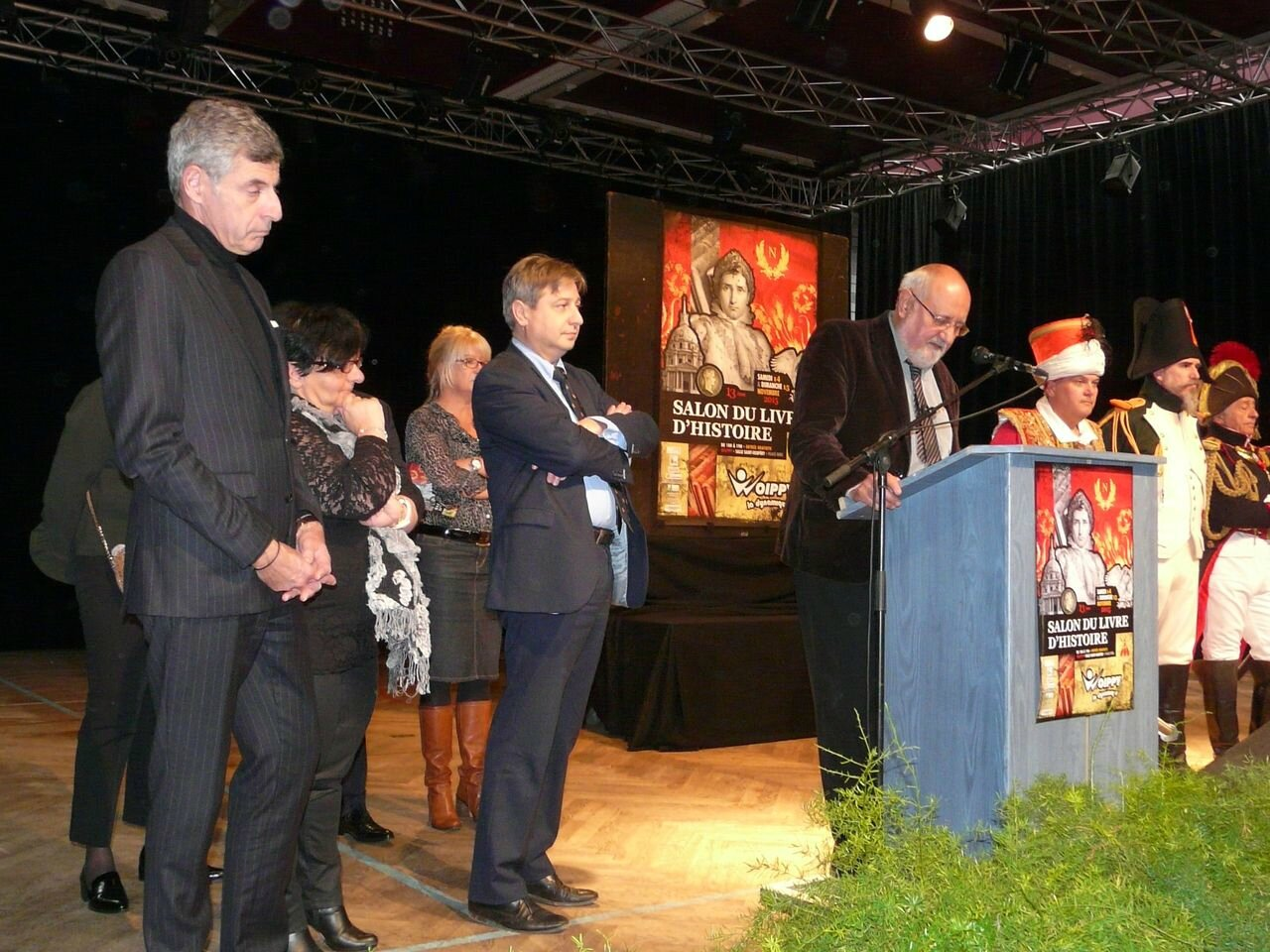 Jean-Luc BOHL, François GROSDIDIER, Marc BOJIC à la tribune