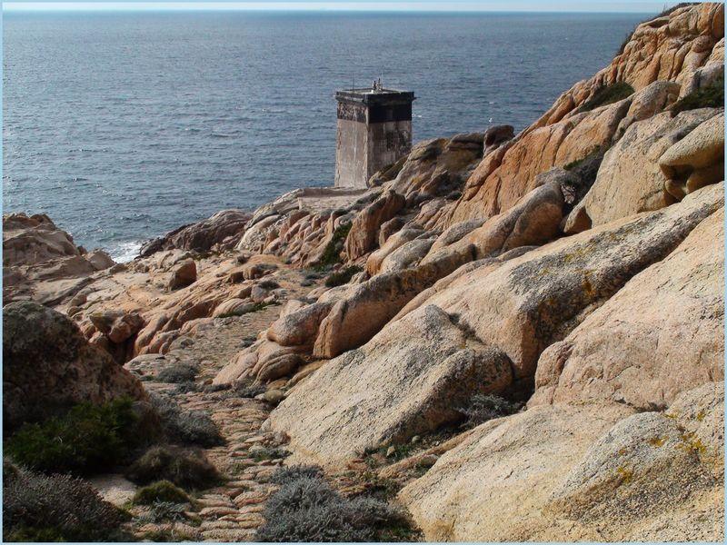 Capu di Fenu, où l'entrée dans le Détroit