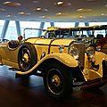 MERCEDES BENZ 24-100-140 PS roadster 1926 Stuttgart (1)