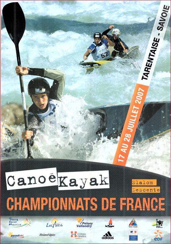 Affiche ch de France eau-vive 2007