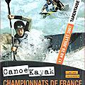 Affiche championnats de france eaux-vives 2007