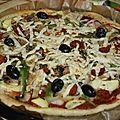 Pizza végétalienne