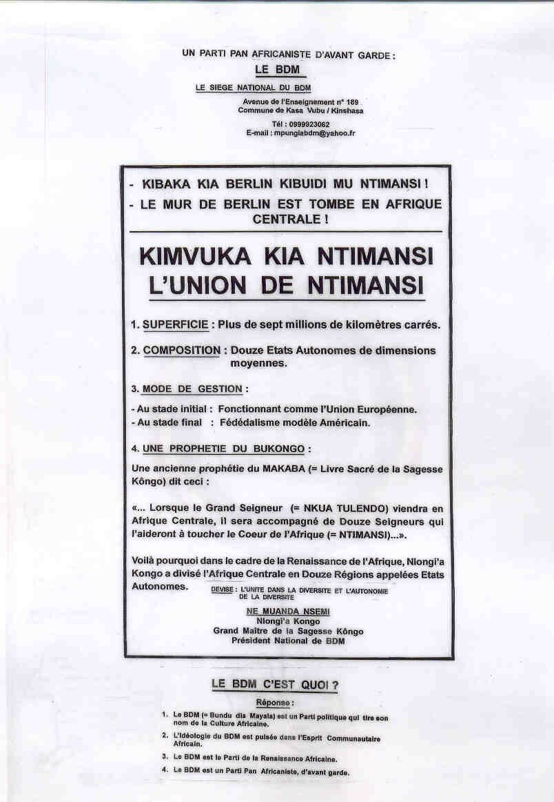 L - UNION DE NTIMANSI 1