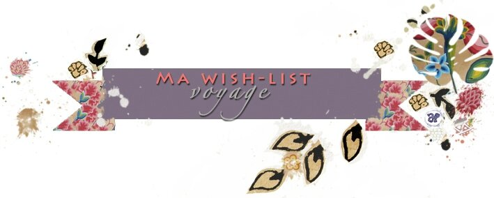 etiquette wish list voyage